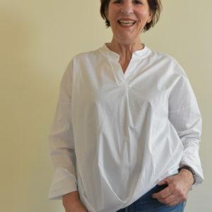 Damenmode Büsum-Bluse-weiß-vorne